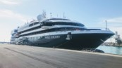 World Explorer: a luxurious cruise ship at Catania Cruise Port